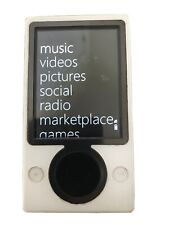 Zune White 30 Gb Player Working Bundle with Charging Cable (Pls read desc)