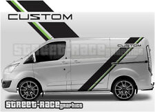 Ford Transit CUSTOM 025 racing stripes graphics stickers decals