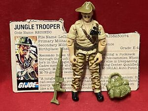 1984 Vintage Gi Joe.................RECONDO 100% Complete