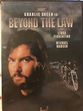 Beyond the Law - 1992 Charlie Sheen - DVD - Free Post!