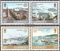 GB - Guernsey 265-268 Paare (kompl.Ausg.) postfrisch 1983 Werke