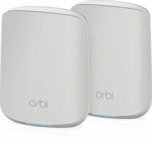 Netgear Orbi WiFi 6 Dual-band Mesh System (RBK352) 1x Router, 1x Satellite