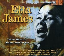 Etta James - I Just Want to Make Love to You [New CD] UK - Import