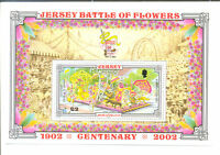 Jersey Battle of Flowers min sheet mnh