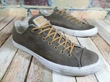 Converse All Star Distressed Brown Leather Sneakers Casual Men's 9