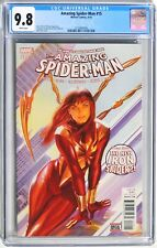 W005. AMAZING SPIDER-MAN #15 marvel CGC 9.8 NM/MT (2016) Alex Ross Cover