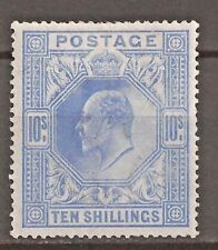 GB Great Britain SG 265 KEVII 10s L.H.M.