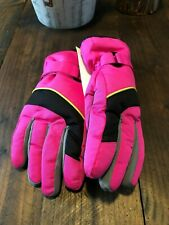 Thinsulate Insulation Girls Ski Gloves New