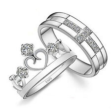 S925 silver jewelry ring Korean fashion jewelry lovers live female crown