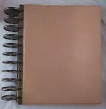 Tul Leather Levenger Circa Notebook 115 X 9 With Extras 2 Rings Discbound