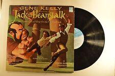 jack and the beanstalk lp gene kelly  sammy cahn   hbr blp-8511  vg++/vg+