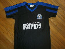 COLORADO RAPIDS JERSEY Old Defunct Logo vtg 00's MLS Soccer Team Futbol SGA