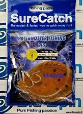 SURECATCH PATERNOSTER FISHING RIG BOLENTINO ~ 2 AMI ~ 130cm 35lbs ~ SIZE: 1
