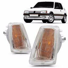 Peugeot 205 (1990-1998) Turn Signals Corner Lights PAIR LEFT + RIGHT Side