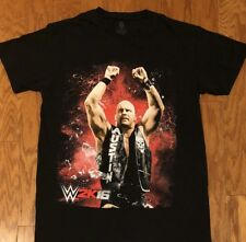 Mint Condition WWE 2K16 Stone Cold Steve Austin T-Shirt sz S