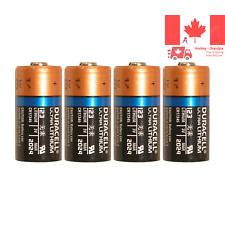 4 Pcs Lithium 3V CR123A DL123A CR17345 Leak Resistant Long Lasting Batteries