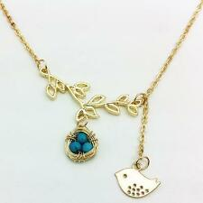 Yellow Gold Plated Alloy Round Costume Necklaces & Pendants