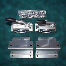 2x Stützenhalter und Klemmschelle für Brenderup Kippi 200 / 150 inkl. Montageset