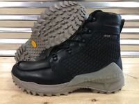 Under Armour Field OPS Gore Tex GTX Leather Boots Black Gray SZ ( 1299231-001 )