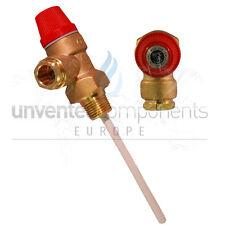 """Altecnic Caleffi 7 bar 1/2"""" Pressure and temperature relief valve TPR15"""