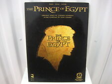 The Prince of Egypt Piano Vocal Guitar Sheet Music Song Book Songbook
