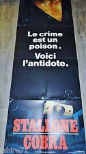stallone COBRA ! affiche cinema modele rare