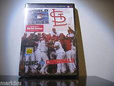 New sealed 2006 World Series Tigers vs Cardinals MLB DVD movie bonus features