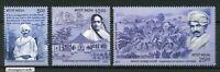 INDIA 2017 Champaran Satyagraha Centenary Mahatma Gandhi stamp set 3v MNH