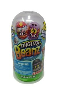 MIGHTY BEANZ SLAM PACK SERIES 2 SET 8 BEANZ New Sealed Discount For Multiple