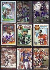 CLYDE SIMMONS Arizona Cardinals - 1995 Pro Line SIGNED / AUTOGRAPH Card