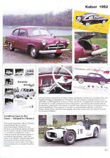 1952 Kasier Manhattan + Henry J + Sears Allstate Article - Must See!!
