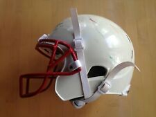 Xenith X1 Youth Football Helmet, White w/Red Facemask, Large