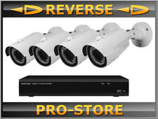 MONACOR ioz-408bv Comfort Line überwachungsset video 8 canale video recorder 2 TB