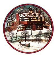 Charles Wysocki Peppercricket Grove The Black Crow Antique Shop Plate 8th Issue
