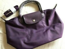 Longchamp NEW Le Pliage NEO Small Handbag w Strap 1512- Bilberry