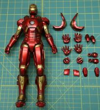 Hot Toys MMS311 Iron Man Mark IX Loose Figure w/ Issues and No Pepper Potts Mk 9