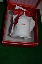 "Hallmark Keepsake ""Porcelain Dated Bell"" Ornament 2007"