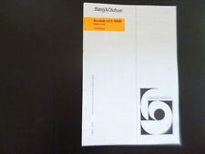 Original Service Manual Schaltplan Corrections Bang&Olufsen Beolab LCD 9000
