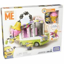 Mega Bloks DPG73 Despicable Me Minions Ice Cream Truck Construction Playset Toy