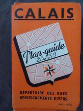 Plan blay calais 1956