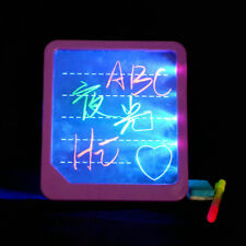 Acrylic LED Board Light Up Drawing Writing Special Puzzle Education Toy Gifts UK