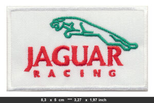 JAGUAR RACING Aufnäher Patch Bügelbild Auto Sportwagen Oldtimer England v1