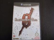 RESIDENT EVIL ZERO GAMECUBE PAL  CASTELLANO