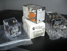 Lot of 3 Tyco Potter Brumfield and Allen Bradley 120VAC Control Relays - NOS