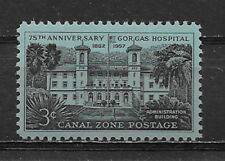 CANAL ZONE , US , 1957 , GORGAS HOSPITAL , 3c STAMP , PERF , MNH