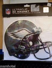 PHILADELPHIA EAGLES NFL FOOTBALL HELMET MAGNET ULTRAFLIP 3D LENTICULAR FLASHER