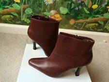 No Boundaries Burgundy Fashion Ankle Boots Heel Boots Shoes Size 8.5M New
