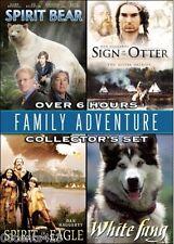Spirit Bear - Sign of the Otter- Spirit of the Eagle - White Fang (4 Movie Dvd)