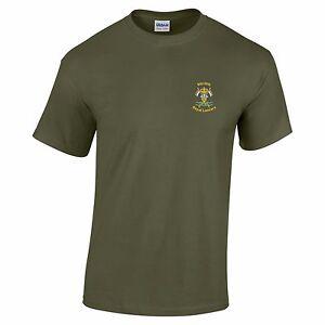 9/12 Royal Lancers pre-shrunk Cotton T-Shirt