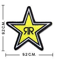 Rockstar Energy Patch Aufnäher Gestickt Stickerei Aufbügler Motorrad MotoGP DIY